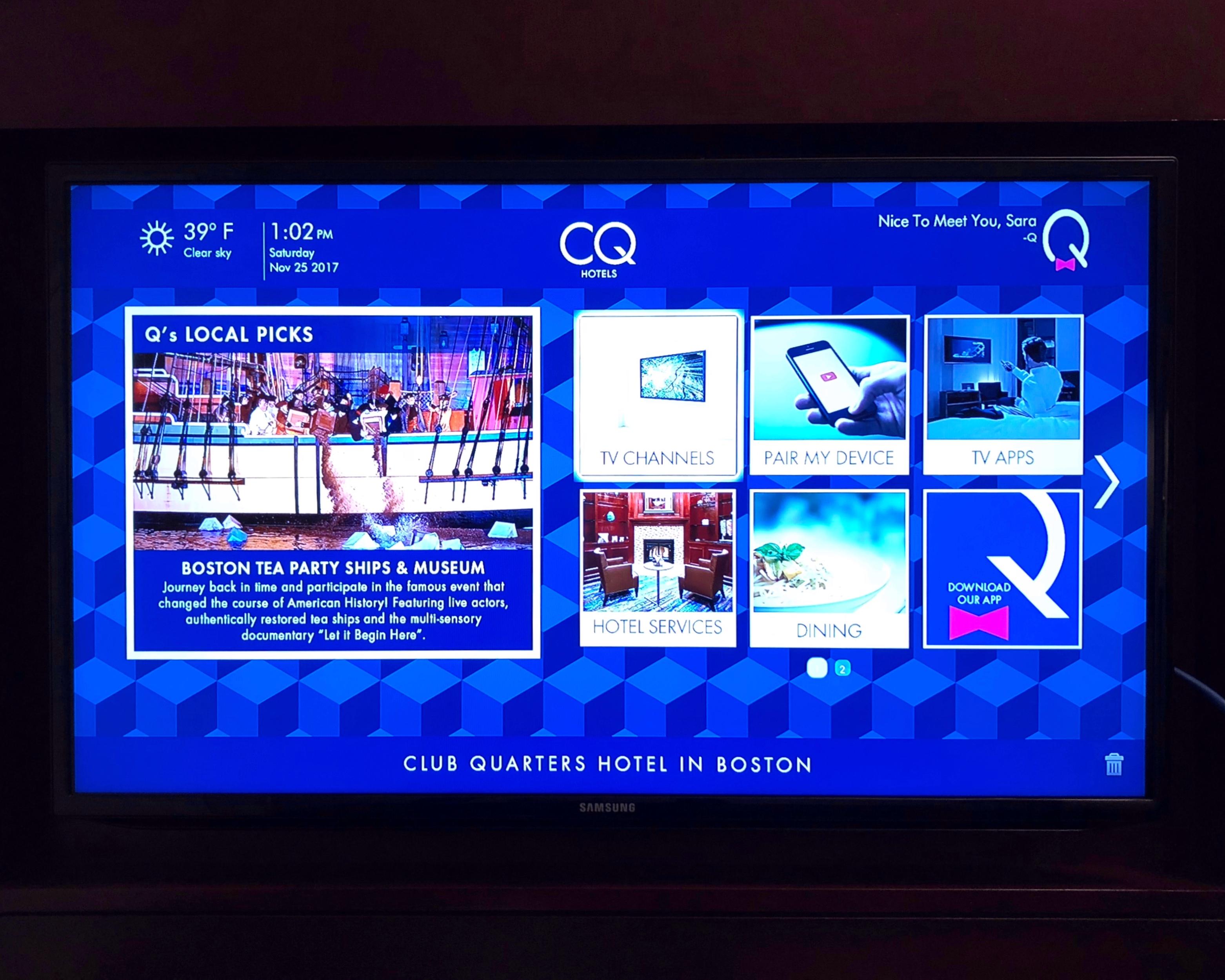 CQ TV Fitness app program