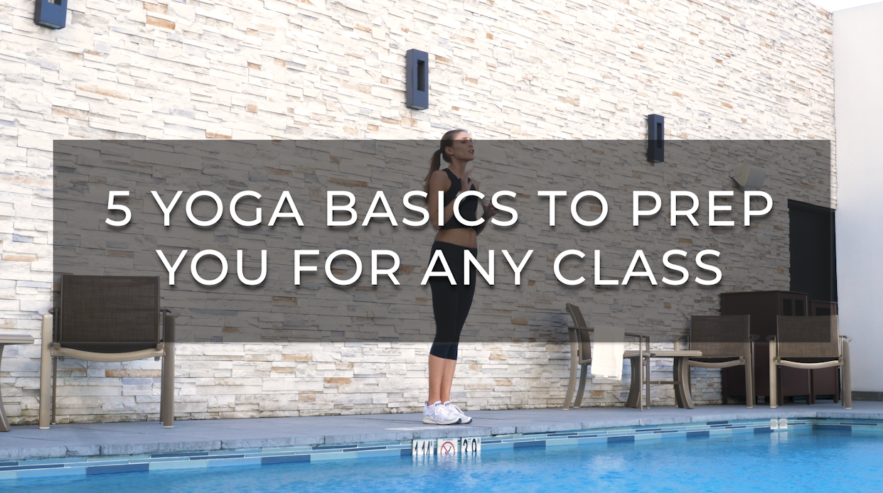 Yoga Basics Beginners Postures